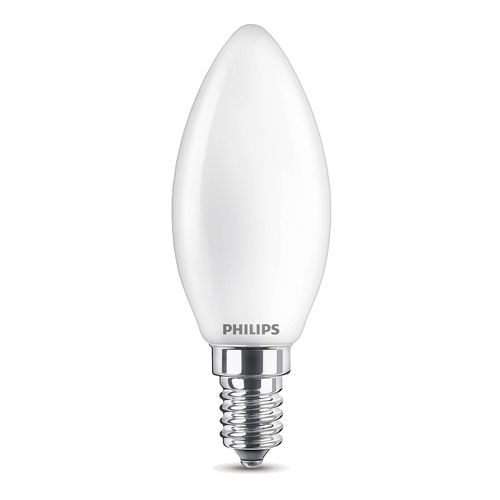 Ampoule LED bougie Philips Classic blanc froid 2,2W E14
