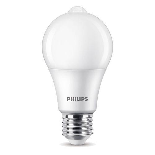 Ampoule LED Philips avec capteur A60 8W E27