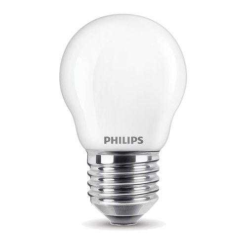 Ampoule LED sphérique Philips Classic 2,2W E27 - 2 pièces