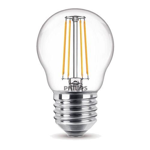 Ampoule LED sphérique Philips Classic 4,3W E27 - 2 pièces