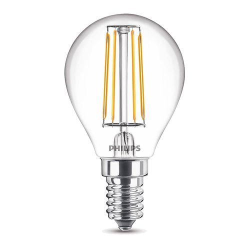 Ampoule LED sphérique Philips Classic 4,3W E14 - 2 pièces