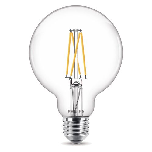 Ampoule LED globe Philips Classic WarmGlow 9W E27
