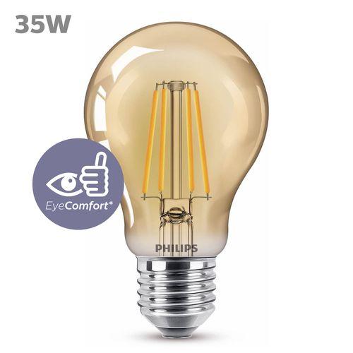 Philips LED-lamp Classic Vintage A60 4W E27