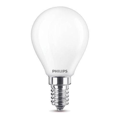 Ampoule LED sphérique Philips Classic blanc froid 4,3W E14