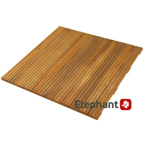 Dalle de terrasse bois dur Elephant FSC 100x100cm