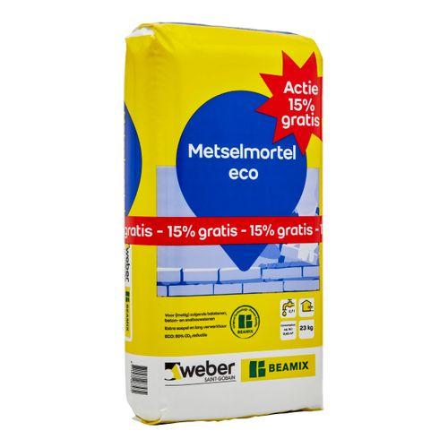 Weberbeamix Metselmortel ECO Actie 23kg