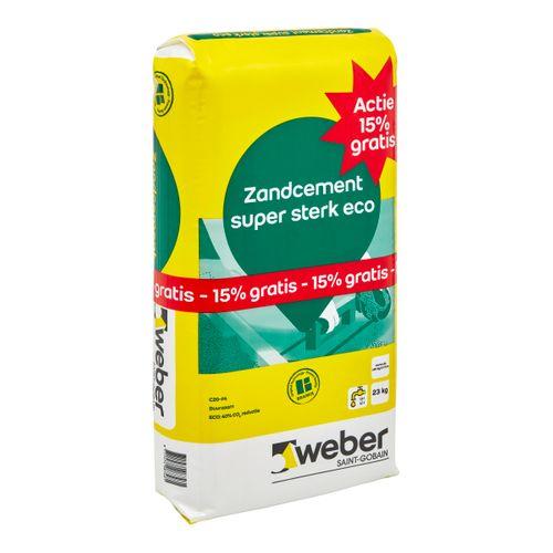 Weber Zandcement super sterk eco Actie 23kg