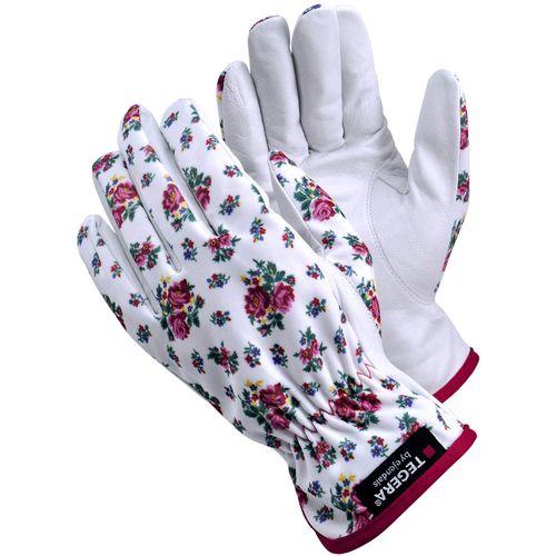 Handschoen Tegera 90014 wit maat 6