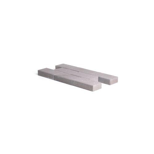 Coeck beton straatsteen met afgeschuind rand grijs 22x11x5cm 560st