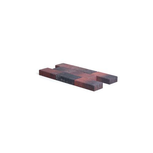Pavé en béton Coeck avec chanfrein rouge 22x11x5cm 560pcs