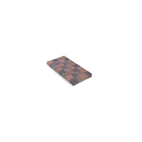 Coeck getrommelde klinker 10x10x4cm herfstkleuren 1386 stuks