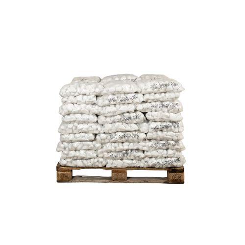 Coeck keitjes Carrara rond 40-60mm 20kg 54 stuks + palet