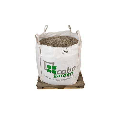Gravier décoratif Coeck silex 6-12 mm Big bag 1500kg 1m³ + palette