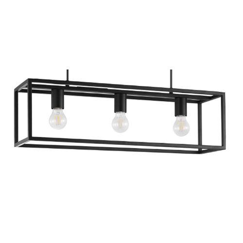 EGLO hanglamp Blackcrown 3xE27