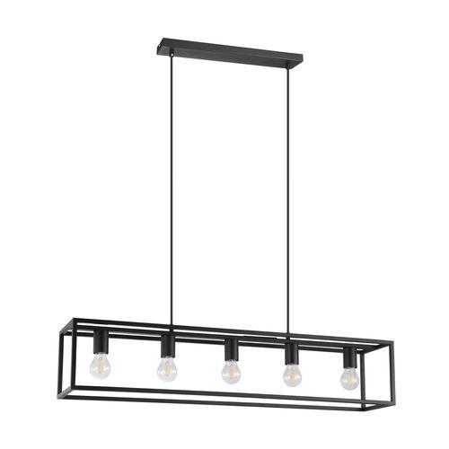 EGLO hanglamp Blackcrown 5xE27