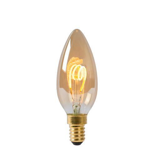 Ampoule LED à filament Lucide E14 3W ambre