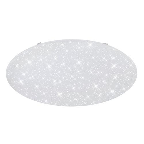 Plafonnier led Briloner VERB Starry blanc rond