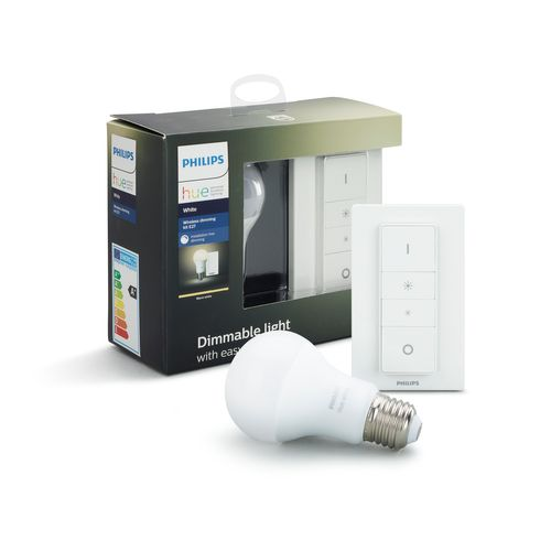 Philips Hue dimmerset lamp wit E27