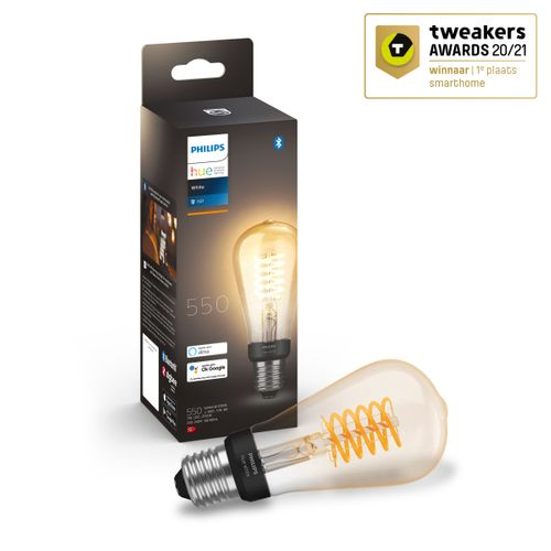 Philips Hue filament lamp edison warm wit E27