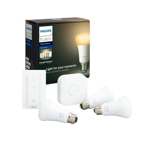 Philips Hue starterkit wit Ambiance 3xE27