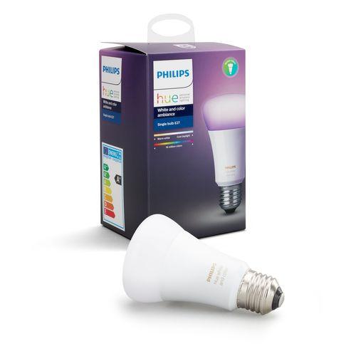 Philips Hue lamp standaard wit en gekleurd E27