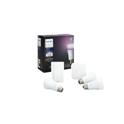 Philips Hue starterkit color and white Ambiance 3xE27