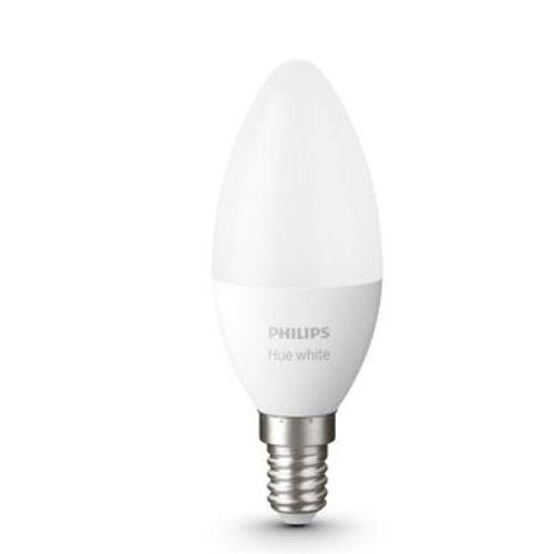 Philips Hue lamp flame warm wit E14 2 stuks
