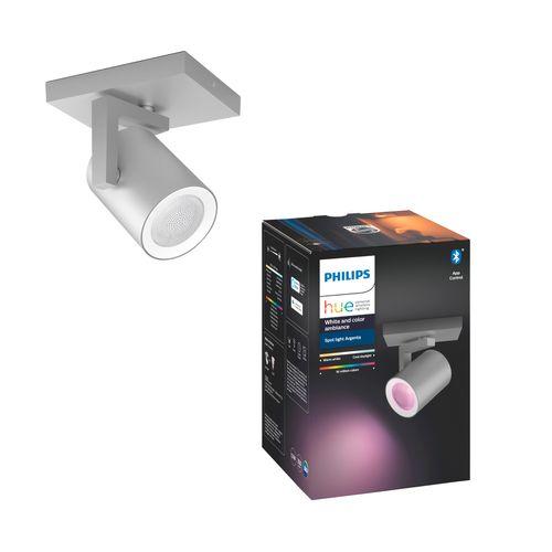 Philips Hue spot Argenta aluminium 5,7W