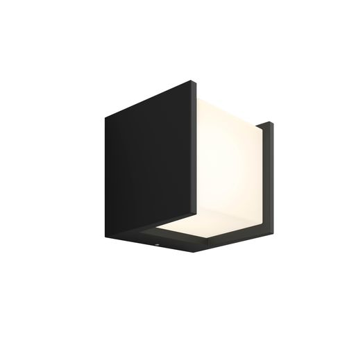 Philips Hue wandlamp Fuzo zwart open