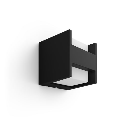 Philips Hue wandlamp Fuzo zwart gesloten