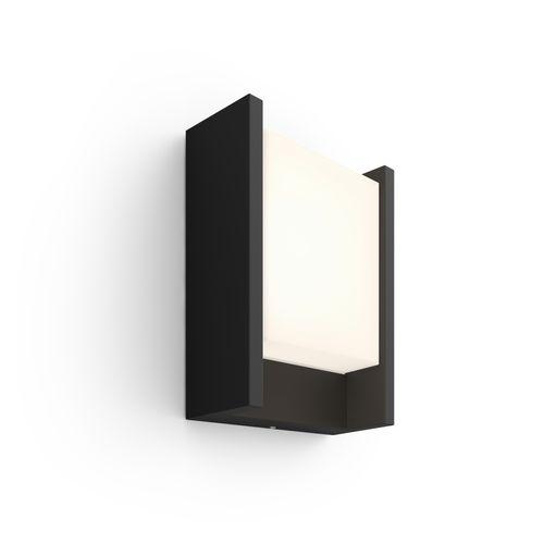 Philips Hue wandlamp Fuzo zwart breed