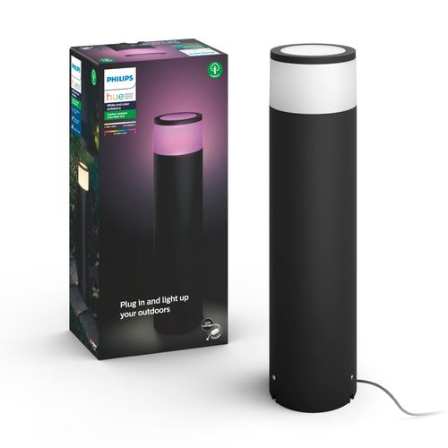 Philips Hue Outdoor sokkellamp Calla hoog 8W