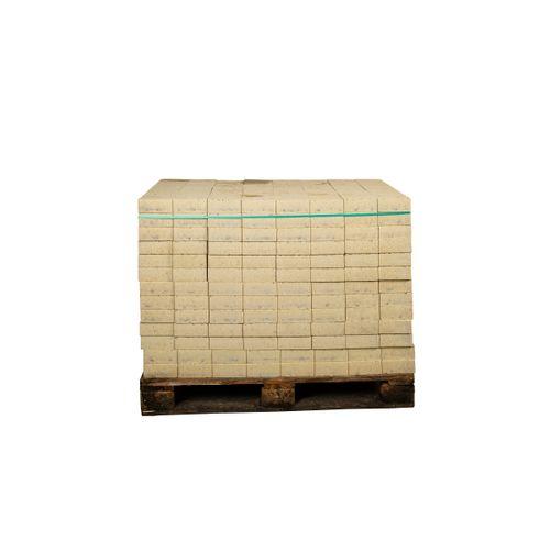 Coeck getrommelde in-line klinker geel 15x15x6cm 520st