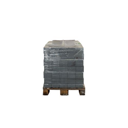 Pavé tambouriné Coeck in-line pierre bleue 15x15x6cm 520pcs + palette 3004837