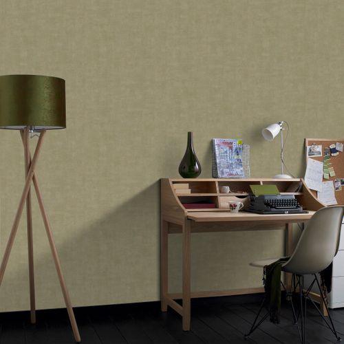 Papier peint intissé Decomode Concrete mat olive