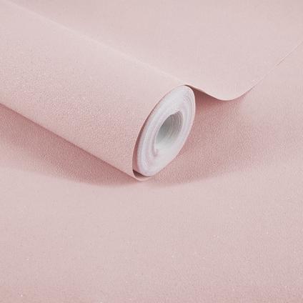 Decomode vliesbehang Basic glitter roze