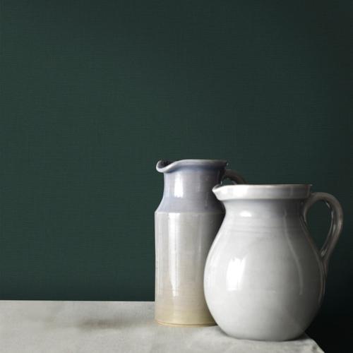 Decomode vliesbehang Basic textile groen