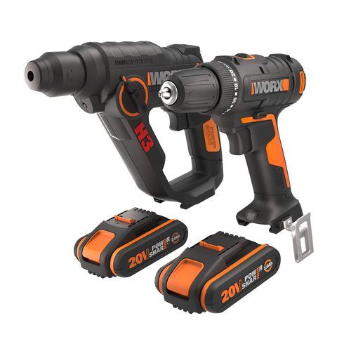 Worx WX927 boorhamer en accuboormachine