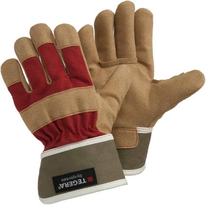 Handschoen Tegera 90088 bruin maat 7