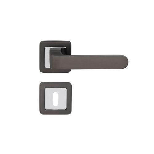 Poignée de porte Sencys gris aluminium Parma