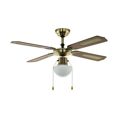 EGLO ventilateur de plafond Tiggano avec lumière