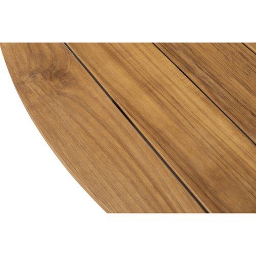 Table de jardin Central Park Sanary teck Ø150cm