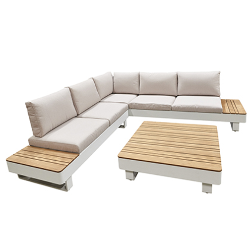 Central Park loungeset StRaphael wit