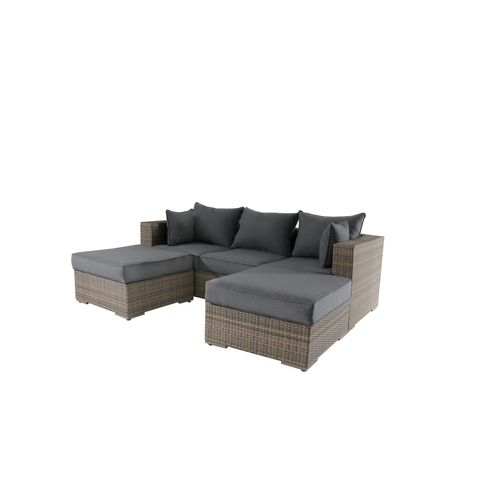 Ensemble lounge Central Park Julieta 3pcs brun - 2020 -