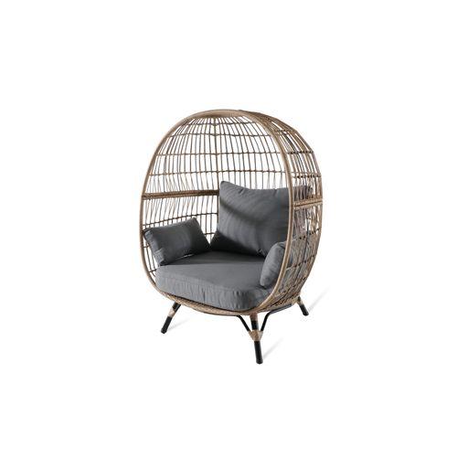 Chaise de jardin Central Park Amalfi acier/osier