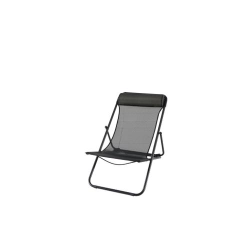 Central Park strandstoel Sevilla zwart