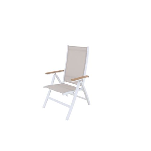 Central Park Chaise de jardin 'Bonifacio' empilable blanc