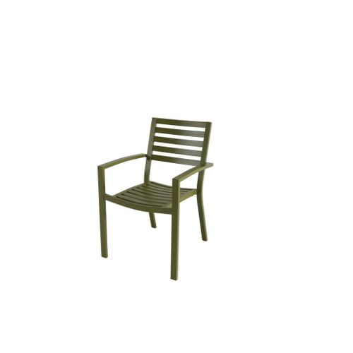 Chaise de Jardin empilable Central Park Vina olive