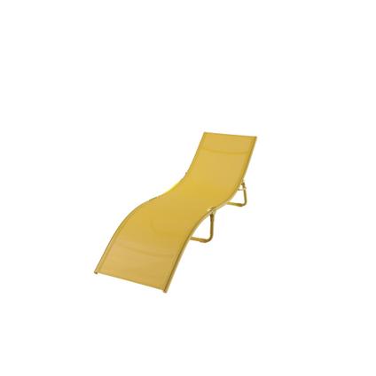 Transat Central Park Wave pliable jaune