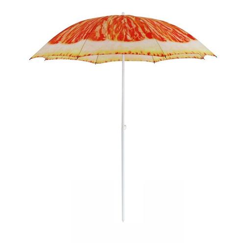 Parasol Central Park de plage Beach Ø1,8m orangel